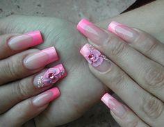 Beautiful square nails
