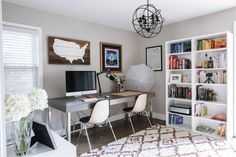 House Tour: An Eclectic Chic Michigan Bungalow | Apartment Therapy