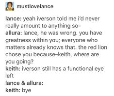 Knock out his other eye for your bby Keith Form Voltron, Voltron Klance, Samurai, Voltron Memes, Allura, Space Cat, Paladin, Dreamworks, Steven Universe