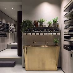 Aesop Frederiksberg in Copenhagen, designed in collaboration with Ilse Crawford…