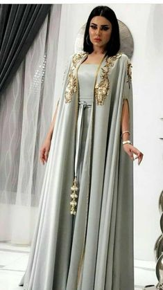 Moroccan Takshitas jilbab jalabiya kaftan wedding moroccan kaftan wedding dress Muslim Evening Dress by TheKaftanStore on Etsy Source by thekaftanstore Arab Fashion, Muslim Fashion, Modest Fashion, Punk Fashion, Lolita Fashion, High Fashion, Mode Outfits, Fashion Outfits, Arabic Dress