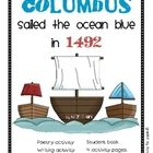 Columbus Day packet on TPT $5.00