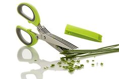 FreshCut Gourmet Herb Scissors Multipurpose Shears with 5 Stainless Steel Blades and Cover, http://www.amazon.com/dp/B00J2JBP2M/ref=cm_sw_r_pi_awdm_Kdr0vb002HG56
