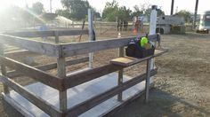 Horse wash stall