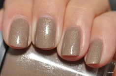 Orly Nite Owl - Love this one! Nude and demure yet tons of sparkle!