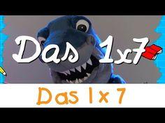 Das 1x7 Lied - Mathe Lernlieder || Kinderlieder - YouTube