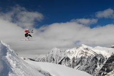 sit skier catching big air