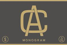 Our AC Monogram focuses on clean lines and curves to create a beautifully balanced monogram. Logos, Typography Logo, Cool Lettering, Lettering Design, Ac Logo, Letter Photography, Corporate Id, Church Logo, Personal Logo
