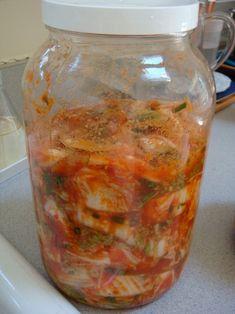 Simple vegan kimchi recipe