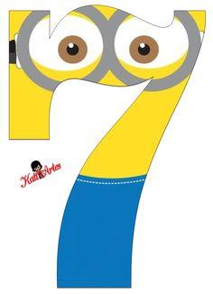 Lindo Alfabeto de Minions. | Oh my Alfabetos!