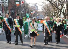 Now into its 21st year, Asia's largest St. Patrick's Day parade promises to be extra festive in 2013, thanks to the simple fact that it actually falls on March 17. The main strip of Omotesando is closed to traffic during the afternoon, when a parade of costumed revellers, marching bands and cheerleaders wends its way up the hill and back again – then off to the nearest pub for a few rounds of Guinness! http://irishnetworkjapan.blogspot.jp/2013/03/media-alert21play-back-21th-st-patricks.html
