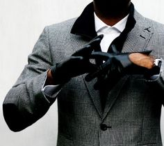 Gloves that turn heads and a jacket to match.