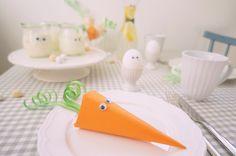GESCHWISTER Gezwitscher: Decorate your easter table, Oster Tischdekoration mit Wackelaugen