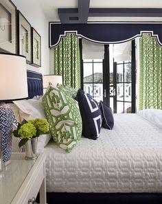 Trendy Bedroom Ideas For Small Rooms For Two Window Treatments Ideas Olive Green Rooms, Blue Green Bedrooms, Bedroom Green, Bedroom Black, White Bedrooms, Green Bedding, Bedroom Color Schemes, Bedroom Colors, Home Decor Bedroom