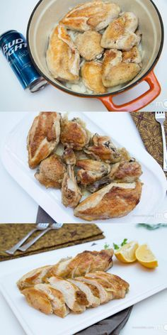 Beer Roasted Chicken has been a very well known process of baking chicken, as it makes chicken deliciously moist.