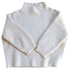 Beige Cashmere Knitwear VANESSA BRUNO (765 PHP) ❤ liked on Polyvore featuring tops, sweaters, shirts, vanessa bruno, beige shirt, beige top, knitwear sweater and shirts & tops