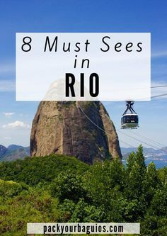 Rio de Janeiro | Brazil Travel | Cristo Redentor (Christ the Redeemer) | Rio de Janeiro Beaches | Pão de Açúcar (Sugar Loaf Mountain) | Museu do Amanhã (The Museum of Tomorrow) | Parque Nacional Da Tijuca | Feira de Arte de Ipanema (Hippie Fair) | Jardim Botanico (Botanical Gardens)