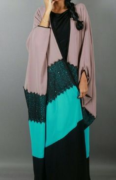 For more abaya  caftan inspiration please visit: www.pinterest.com/santanadxb/abayas-bishts-kaftans-jalabiyas/