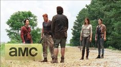 (SPOILERS) Inside Episode 505: The Walking Dead: 'Self-Help'  What makes Abraham tick. He loses his family. Just before shooting himself, Eugene appears and gives Abraham hope of his mission of 'saving the world'!  However, towards the end of episode 5, Eugene finally admits that everything he's said are lies!   He's not a scientist and he can't save the world!