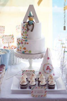 monkey Gorgeous Cakes, Pretty Cakes, Cute Cakes, Yummy Cakes, Cake Pops, Monkey Birthday Parties, Birthday Cakes, Birthday Ideas, Birthday Fun