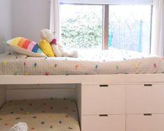 4 - Lilly is Love Boys Room Decor, Kids Room, Ideas Habitaciones, Ideas Dormitorios, Kids Bunk Beds, Kid Spaces, Girls Bedroom, Toddler Bed, Ikea
