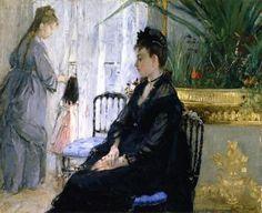 Interior - Berthe Morisot - The Athenaeum