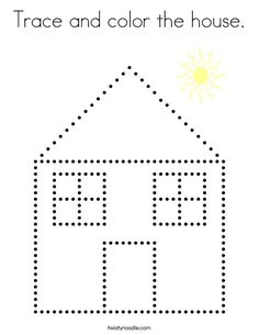 House Tracing Worksheets was last modified: February 2020 by admin Preschool Learning Activities, Kindergarten Worksheets, Toddler Activities, Preschool Activities, House Colouring Pages, Coloring Pages, Tracing Worksheets, Nursery Worksheets, English Worksheets For Kids