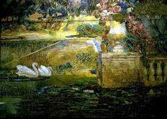 Art Renewal Center :: Louis Comfort Tiffany :: Mosaic Fountain ...