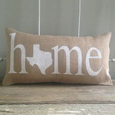 find this pin and more on home means nevada texas home burlap pillow