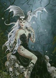 Mad Queen by Nene Thomas Ceaco 750 Piece Fantasy Puzzle New Dark Fantasy Art, Fantasy Girl, Fantasy Art Women, Fantasy Kunst, Beautiful Fantasy Art, Beautiful Fairies, Fantasy Artwork, Dark Gothic Art, Gothic Artwork