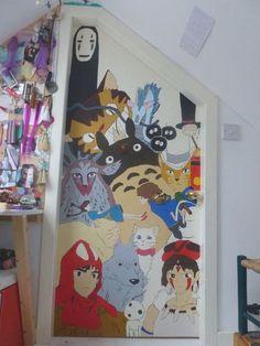 Room Ideas Bedroom, Diy Room Decor, Bedroom Decor, Studio Ghibli Art, Cute Room Ideas, Kawaii Room, Gamer Room, Aesthetic Room Decor, Dream Rooms