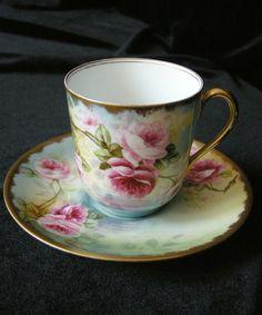 Limoges tea cup