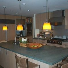 1000 images about slate countertops on pinterest slate for Kitchen cabinets vermont