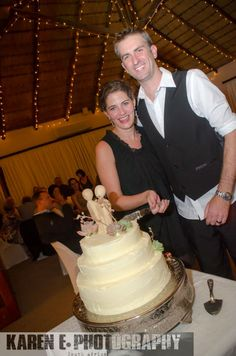 Jana & Ryan Cutting the cake - Little wooden Couple/ people cake topper South African Weddings, Cake Toppers, Wedding Cakes, Couple, Cake Wedding, Couples, Wedding Cake, Wedding Pies