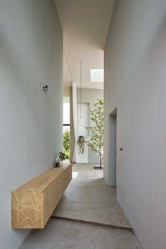 Japon / Un arbre dans la maison /