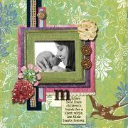 mothers' day by misty-roze scrapbook page