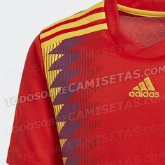 Camiseta de España Rusia 2018