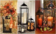 12 pomysłów na to jak lampionami udekorować dom jesienią