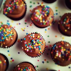 You are here: Home / Cupcake & Cake Pop Recipes / Chocolate Birthday Cupcakes with Nutella Cloud Frosting  Chocolate Birthday Cupcakes with Nutella Cloud Frosting