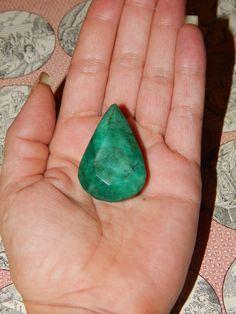GENUINE EMERALD  Genuine Earth-mined Emerald  HUGE by esoTERRAca