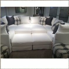 Pit Sectional Couches round modern sectional sofas | room service 360° blog | favorite