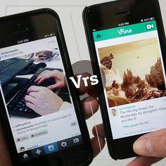 ¿Vine o Instagram?
