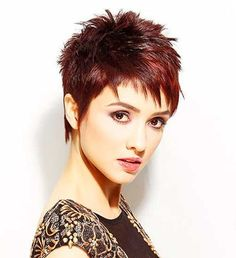 Image result for short spiky pixie cuts