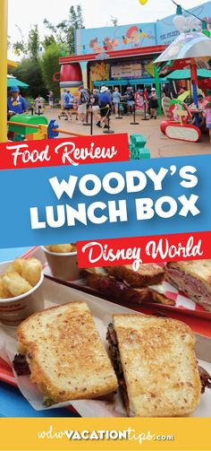 Enter the world of Toys and eat like one too at Woody's Lunch Box in Toy Story Land at #hollywoodstudios #disneyworld #disneydining