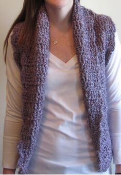 1000+ ideas about Crochet Vest Pattern on Pinterest ...