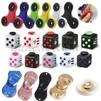 Fidget Cube/Hand Spinner Tri Fidget Anti-anxiety Stress Relief Toy For Adults