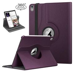 Buy TiMOVO Folio Case for iPad Pro 11 Inch 2018 - [Support Apple Pencil Charging] 360 Degree Rotating Smart Leather Swivel Case with Auto Sleep/Wake for Apple iPad Pro 2018 - Purple Iphone Macbook, Iphone Cases, Ipad Pro 12 9, Apple Ipad, Computer Accessories, Protective Cases, Ipad Case, Purple