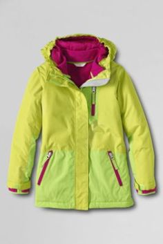 83d465619 Girls' Solid Stormer System 3-in-1 Parka from Lands' End other