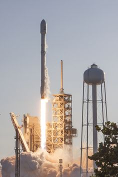 SpaceX took a step into the future Thursday as it reused – for the first time – a recovered first stage of a previously-flown Falcon 9 rocket. Thursday's mission, carrying the SES-10 communications satellite, lifted off from Pad 39A at Florida's Kennedy Space Center at 18:27 local time (22:27 UTC) and once again landed the booster.