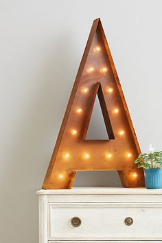 Monogram Marquee light